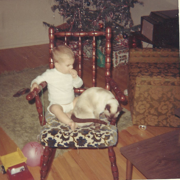 Me and Jezebel the Cat C1967