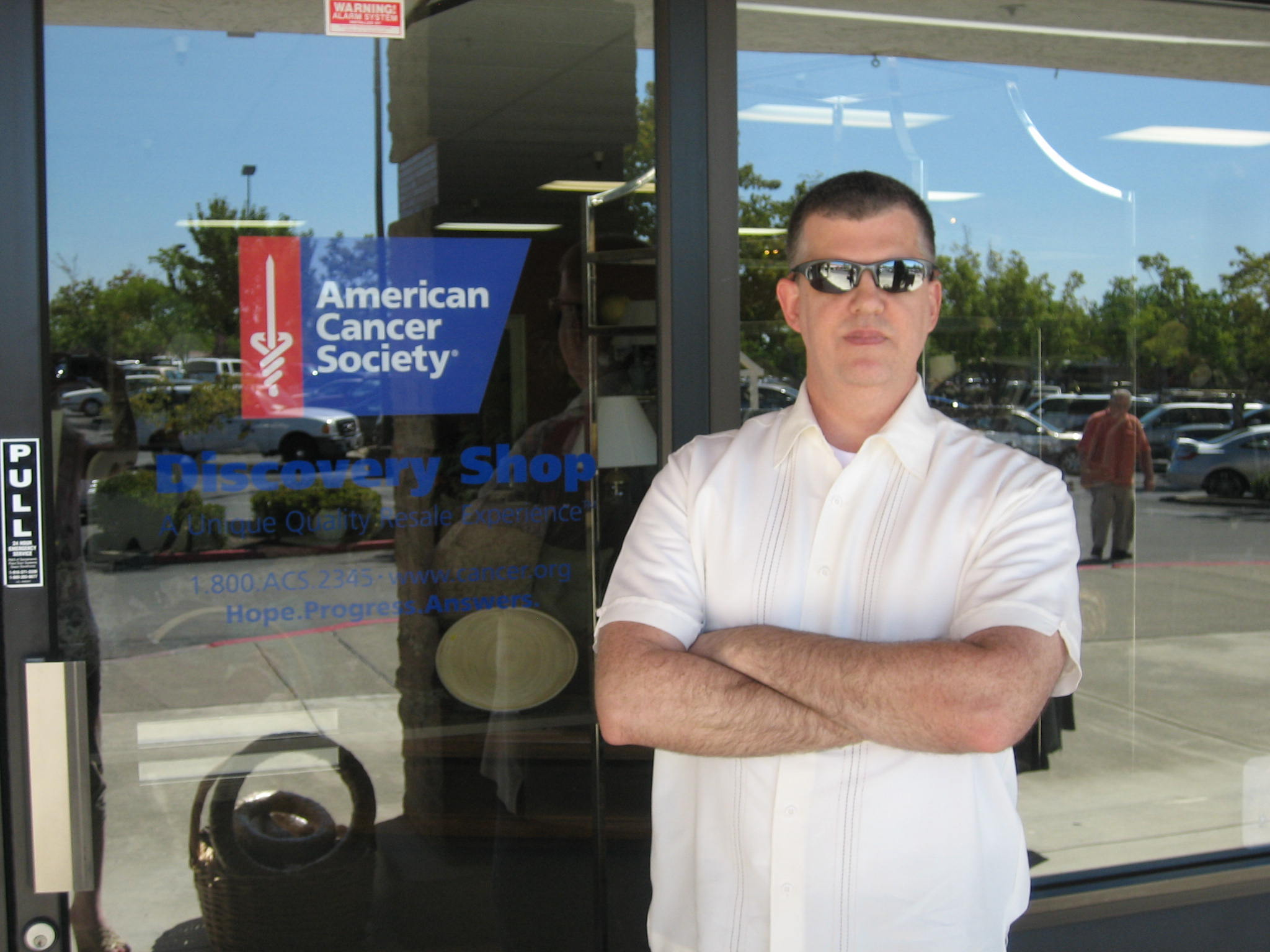 Me at the American Cancer Society in Roseville California.